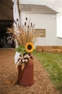 Decorating Ideas Milk Cans Milk Cans 26 Fabulous Fall Decorating Ideas