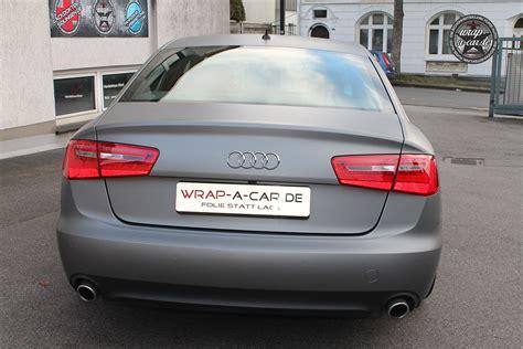 Avery Folie Grau by Audi A 6 In Grau Matt By Wrap A Car De