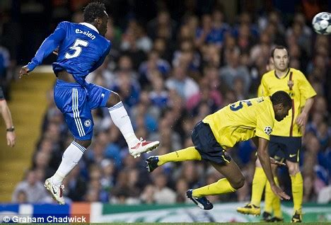 against all odds its chelsea 1 barcelona 0 in pictures chelsea 1 barcelona 1 blue murder at the bridge as