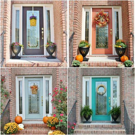 easy ways  refresh  front door