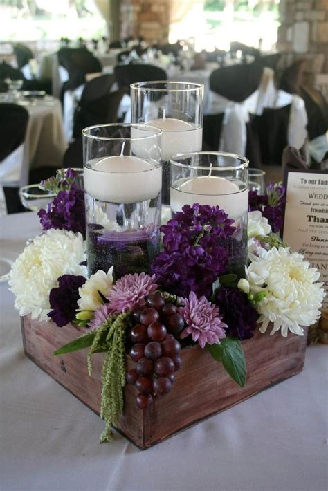 table arrangement 25 best ideas about wooden box centerpiece on pinterest