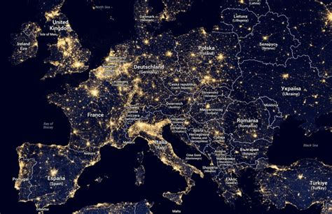 light pollution map diane duane rieni light pollution map of europe this is