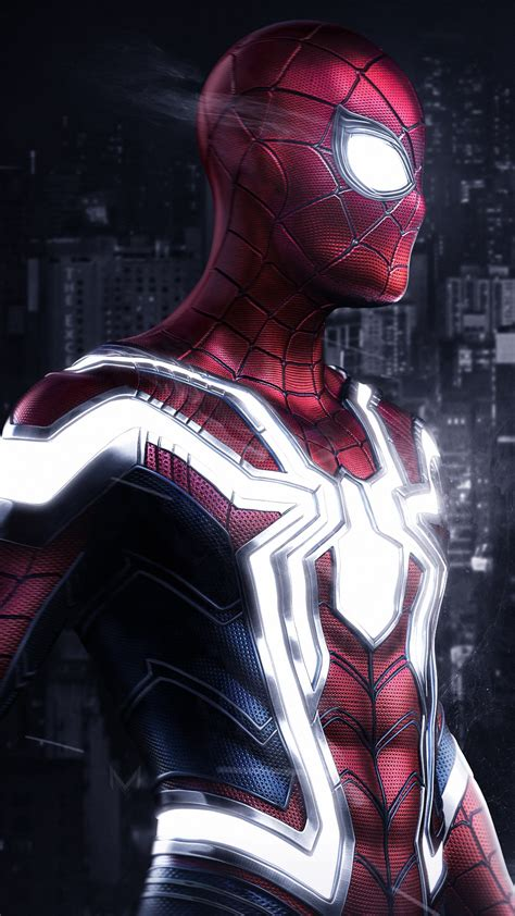 iron spider artwork wallpapers hd wallpapers id