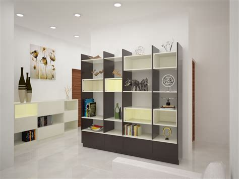 best wall color to showcase design notes an eye catching showcase homelane