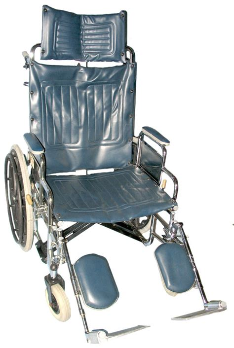 High Back Reclining Wheelchair by Stat Med