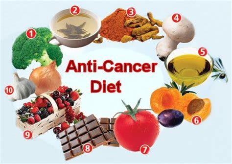 cancer diet fight cancer with anti cancer diets