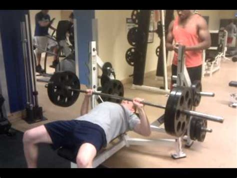 bench press 180 19 y o bench press 225 x 8 reps 180 lbs youtube