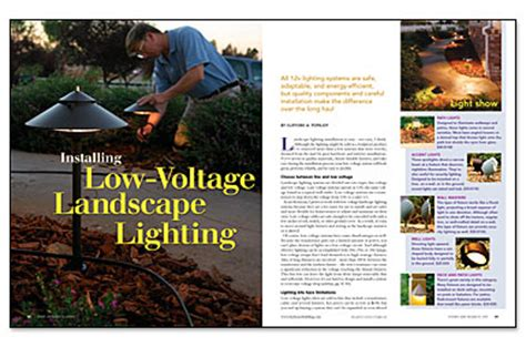 Installing Low Voltage Landscape Lighting Installing Low Voltage Landscape Lighting 021185080 Sprd Jpg Greenbuildingadvisor