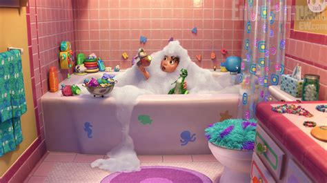 toy story 3 bathroom new toy story short partysaurus rex revealed