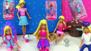 mini barbie dolls i can be toy review pet check up doctor