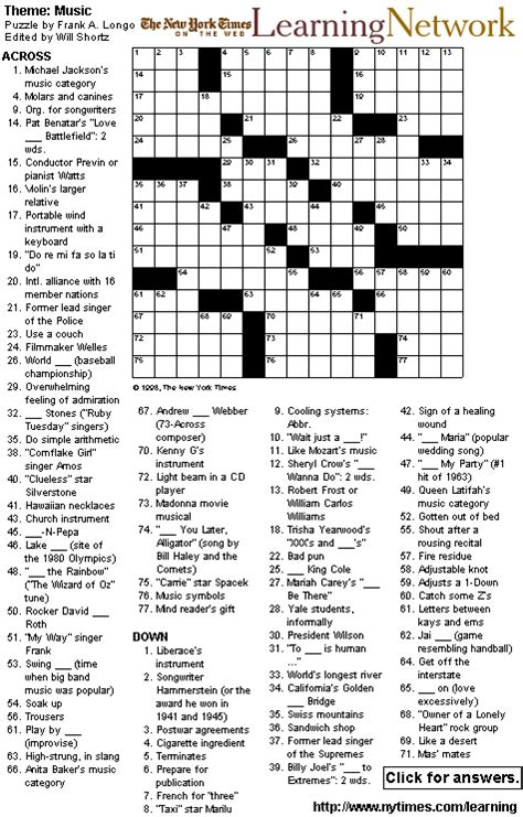 usa today crossword easy easy printable crosswords free printable crossword puzzles