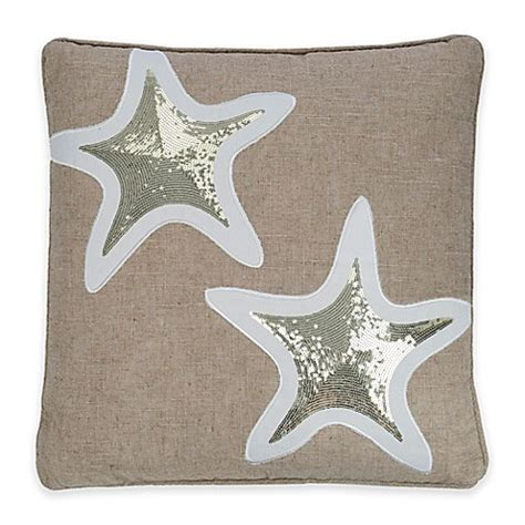 bed bath and beyond maui levtex home blue maui starfish throw pillow bed bath