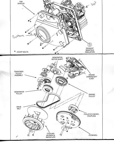 onan generator parts diagram 5000 generator wiring diagram get free image about