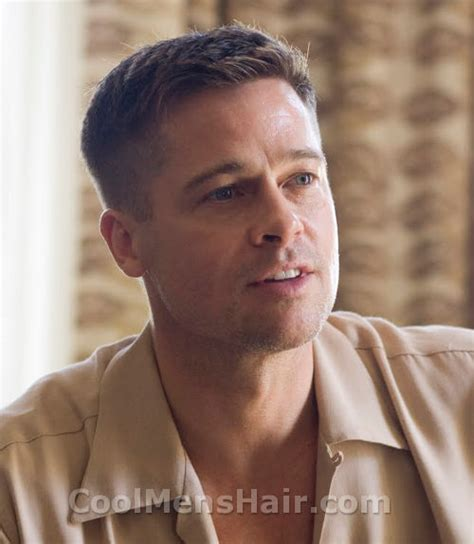 brad pitt prohibition haircut picture of brad pitt hairstyle in the tree of life