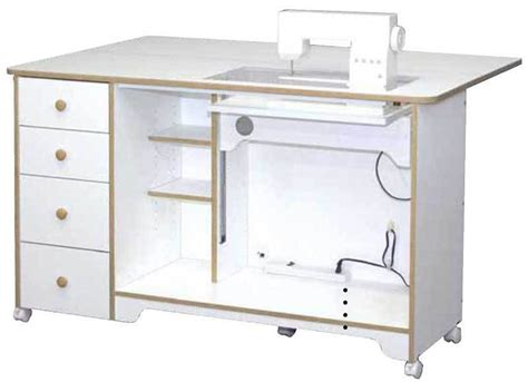 sewing machine cabinets and tables horn of america 5680 electric lift sewing cabinet cutting