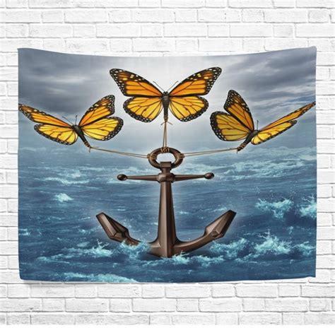 popcreation  monarch butterflies anchor home decor