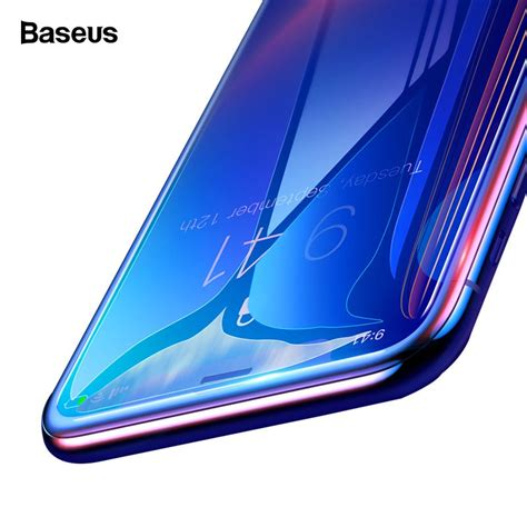 Big W Iphone Xr Screen Protector by Baseus 7d Cover Screen Protector For Iphone Xs Xr Xs Max Tempered Glass 9h 0 3mm Protective