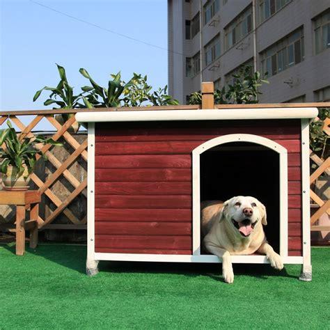 dog house shelter petsfit pet wood house dog outdoor house dog cage outdoor wheatherproof shelter