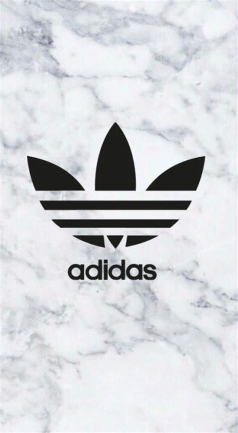 adidas wallpaper red adidas logo on marble background phone wallpaper