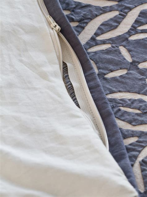 zippered comforter cover turn a coverlet into a duvet cover hgtv