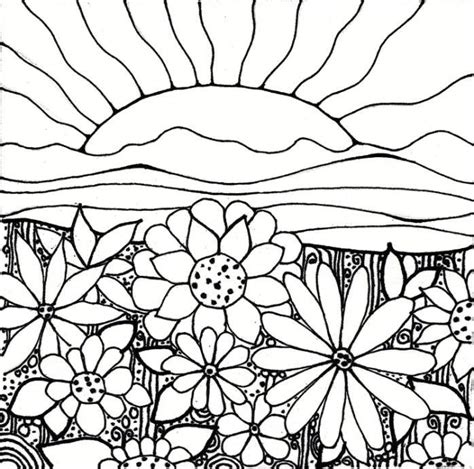 garden coloring pages printable coloring home