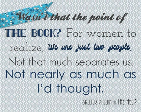 The Help Book Quotes Bathroom The Help Novel Quotes Quotesgram