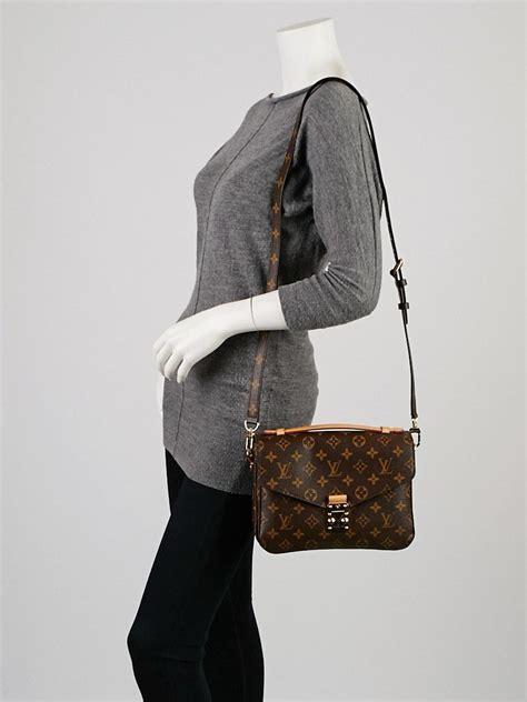 Tas Briefcase Lv louis vuitton monogram canvas pochette metis bag yoogi s
