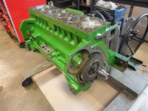 engine engine short block recondition john deere jd   natural block