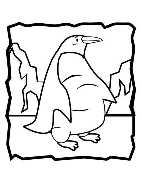 Penguin Mario Coloring Page | free penguin mario coloring pages