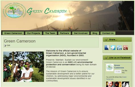 Website Where You Can Find Information On New Website Green Cameroon