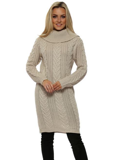 beige cable knit jumper beige cable knit jumper dress