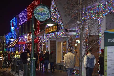 light shows in michigan the big bright light downtown rochester mi