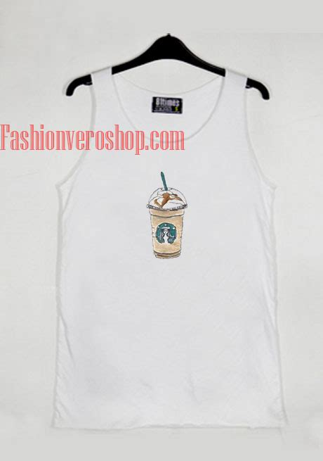 Tangtop Starbuck starbucks tank top