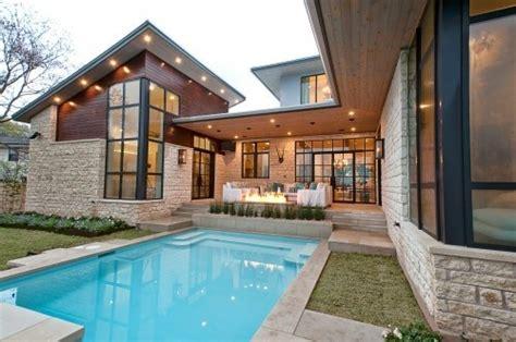 alberca albercas terrazas pinterest new england contemporary house plans home ideas picture