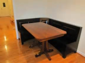 kitchen breakfast nook furniture woodworking ija get corner table wood plans