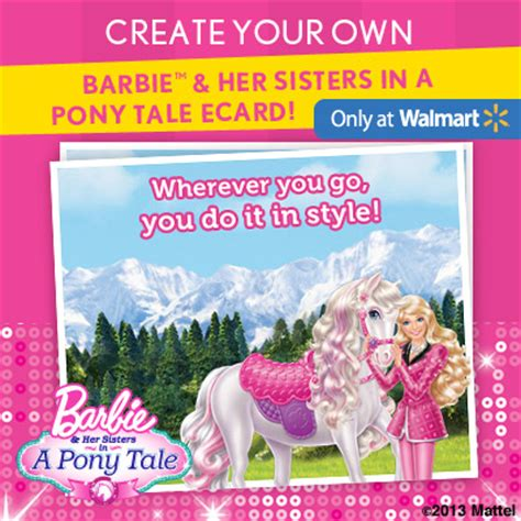 1000 Walmart Gift Card Giveaway - barbie pony tale adventures 1000 sweepstakes walmart gift card giveaway