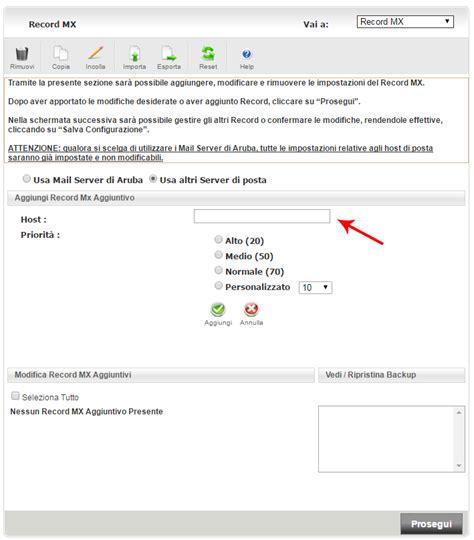 Office 365 Mx Records Impostazione Dei Dns Aruba Per Office 365 Guide Hosting