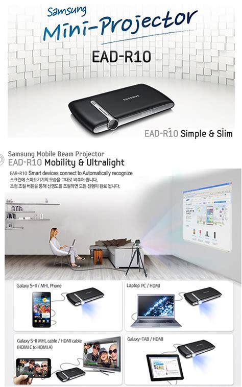 Samsung Mini Projector Ead R10 nwe samsung ead r10 led pico portable mini projector hdmi