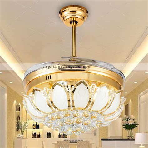 42 inch ceiling fan blades 42inch led ceiling fan with foldable blades gold color