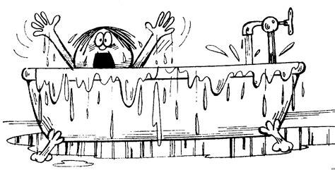 Ertrinkt In Badewanne Ausmalbild Malvorlage Comics