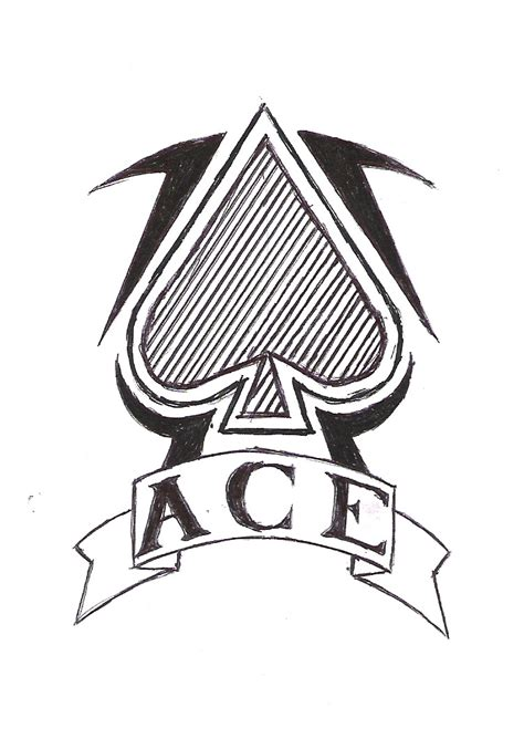 ace of spade tattoo designs ace of spades design by fulhamghost on deviantart