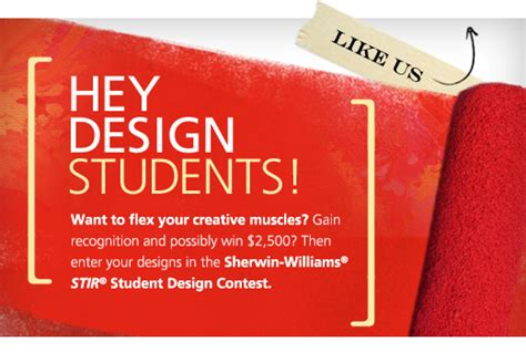 design contest for students enter the annualstir student design contest and you could