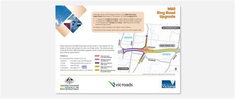 vicroads design guidelines roads m80 detour map charles lin graphic web designer
