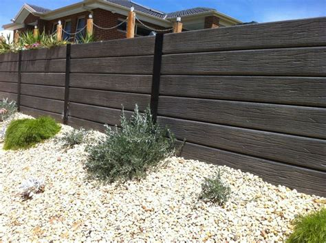 Cement Sleeper Retaining Walls by Modular Concrete Sleepers Pty Ltd Concrete Sleepers