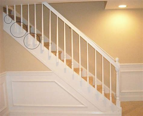 cheap banisters install wood stair railing install wood stair railing