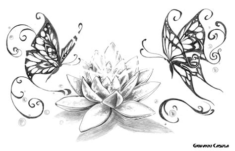 catalogo tatuaggi fiori fiore di loto jx97 pineglen