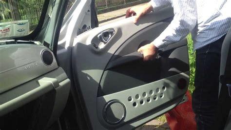 removing  door panel   chrysler pt cruiser