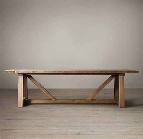 restoration hardware salvaged wood table salvaged wood beam extension table i restoration hardware