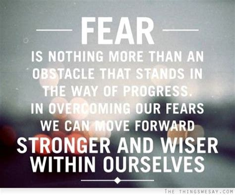Top 6 Fears Of Moving In Together by Fear Is Nothing More Than An Obstacle That Stands In The