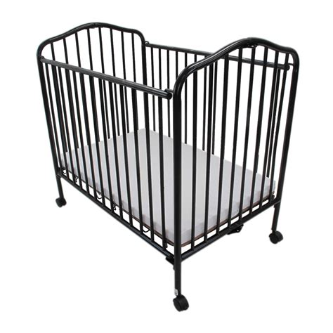 portable mini cribs mini portable compact crib black